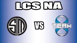 NA LCS - TSM vs TEAM8 - W1D2 - DFG Shoutcast