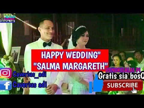 resepsi pernikahan Salma margareth/artis daerah toraja