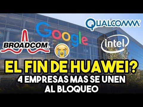 ULTIMA HORA – Google, Intel Y Qualcomm NO TRABAJARÁN MÁS Con Huawei