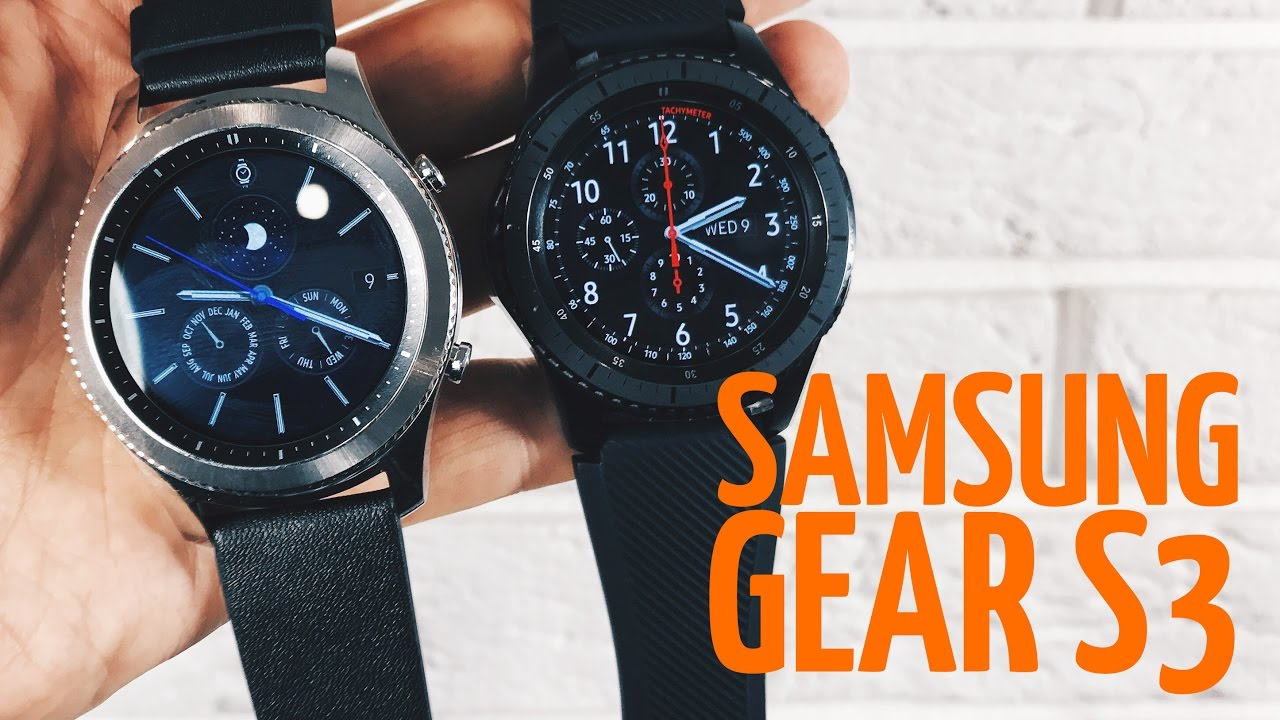 Обзор Samsung Gear S3  Classic   Frontier - YouTube b45a0d5c9bf80