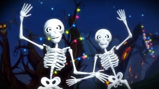 Five Creepy Skeletons - Kids Halloween Songs & Nursery Rhymes by Little Treehouse
