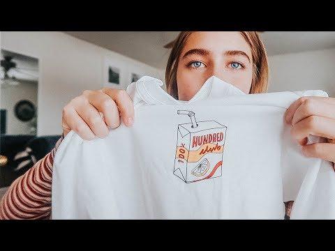 a *tiny* clothing haul