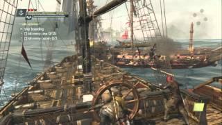 #22【アサシンクリード4実況】船の改造したいから雑魚船を蹴散らす!!