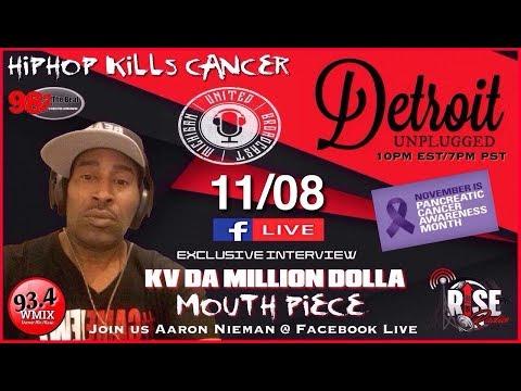 KV with DJ Greenguy on Detroit Unplugged Radio (Greenmix)