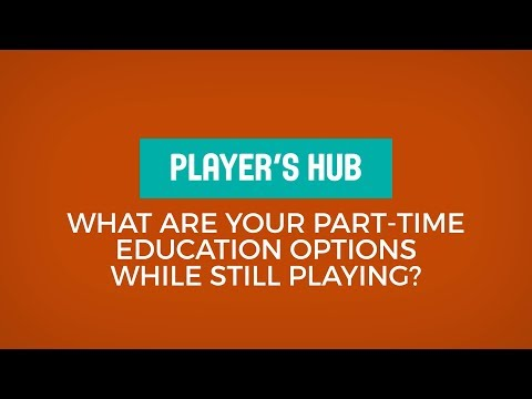 Elisabeth Egnell - What are your part-time education options while still playing?
