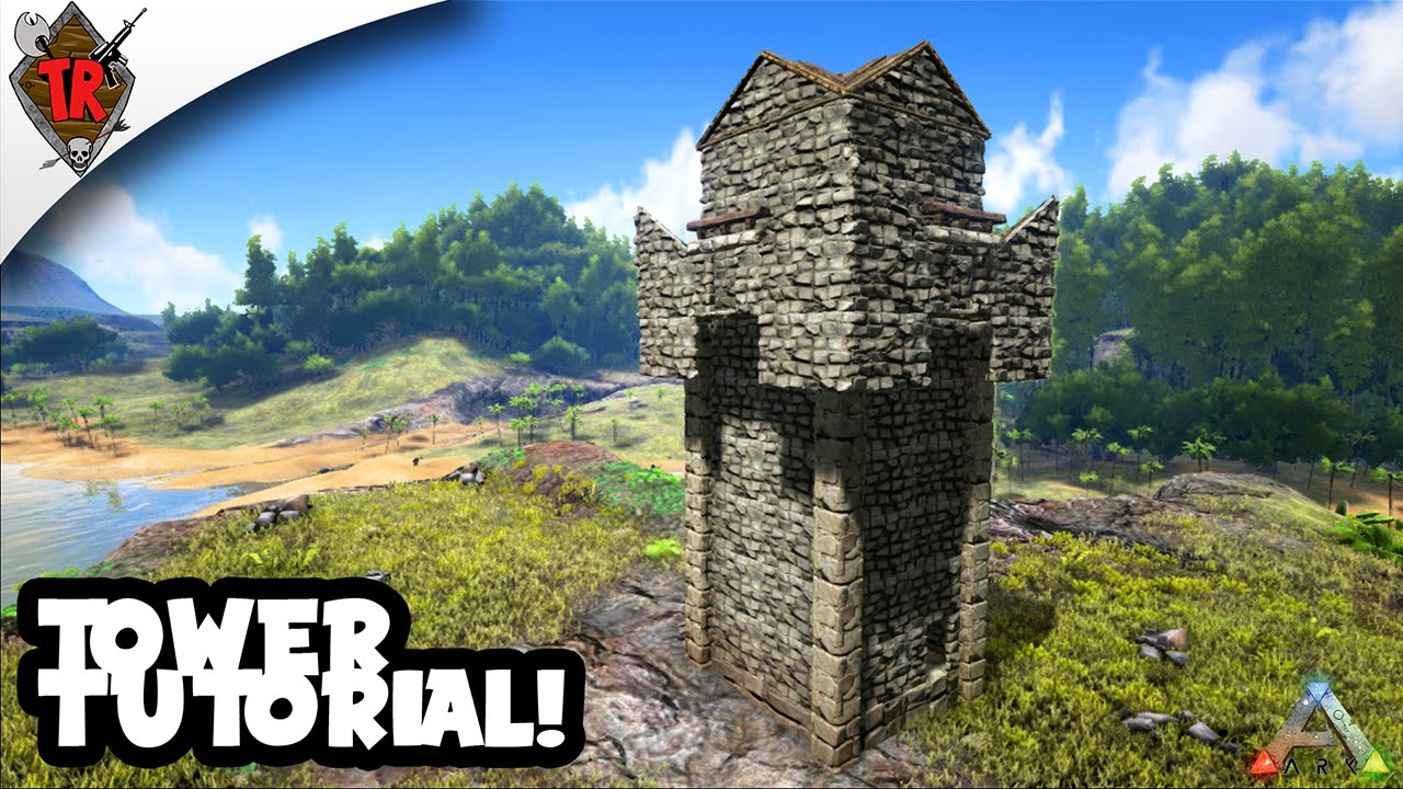 how to build a castle in ark
