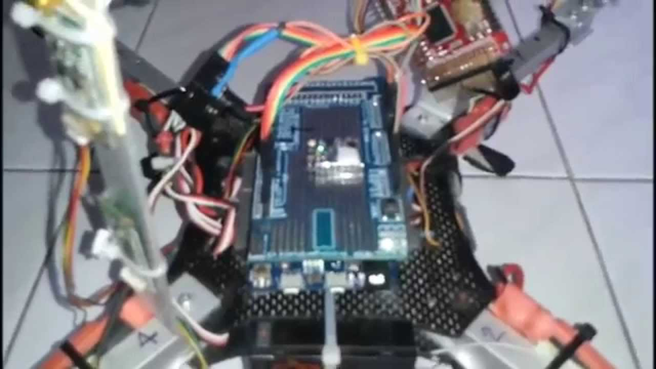 Arduino Due 32bit Quadrotor Testing Altitude Hold Youtube Wiring Diagram