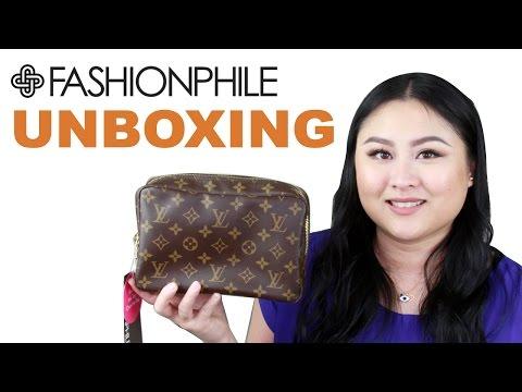 Fashionphile Unboxing 2017 | Louis Vuitton Trousse Toilette 23
