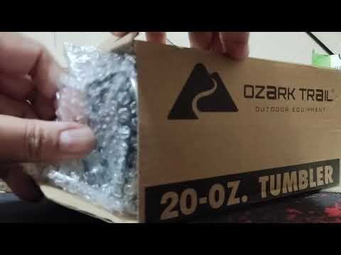 แกะกล่อง แก้วเก็บความเย็น OZARK TRAIL