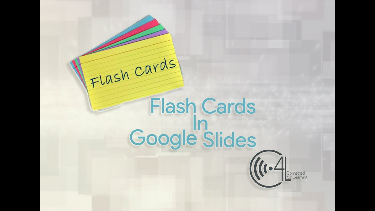 Flash Cards In Google Slides