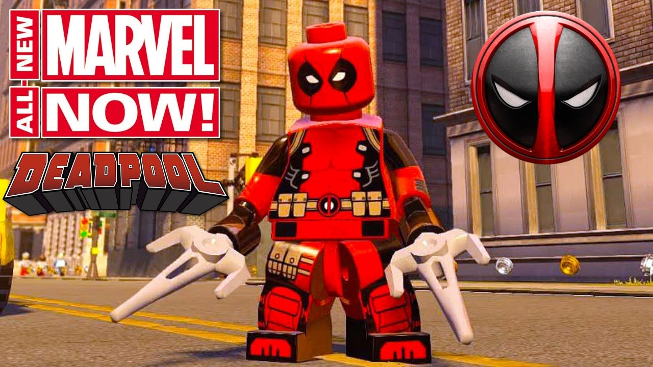 lego marvels avengers deadpool marvel now costume free