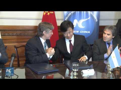 Xinhua, Argentinean Senate to exchange news, information