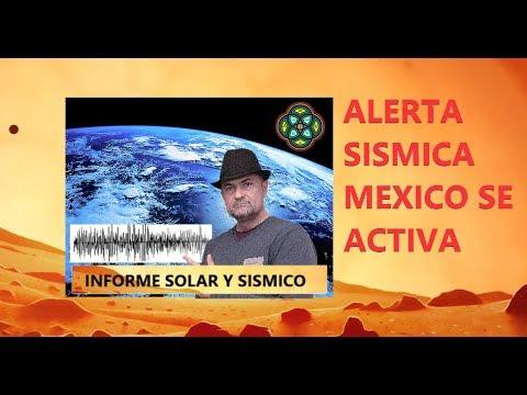 19 Abril - ALERTA SÍSMICA MÉXICO  SE ACTIVA -