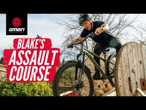 Blake Builds An Assault Course! | Mini Kicker Challenge Part 3