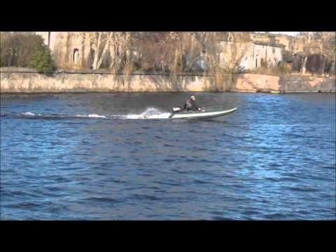 WinBoat-375 Ипытания. часть 1 (Suzuki-15 2Т)