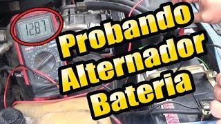 Como probar un alternador con un multimetro   Sin desmontar del auto   #Mecanica   Lasmsilver 