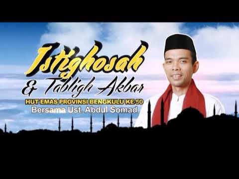Gaspoll! Ceramah Lucu Ustadz Abdul Somad di Bengkulu