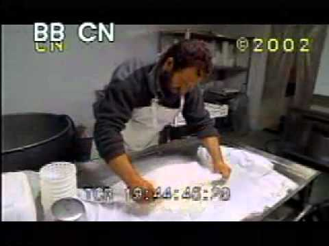 cheese---goat-cheese-making---man-making-cheese---best-shot-footage---stock-footage