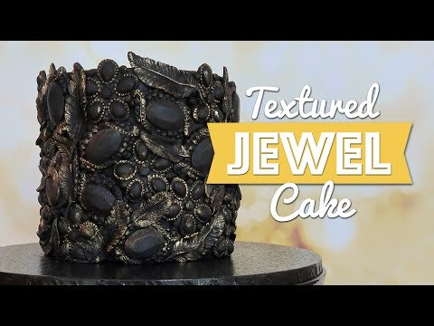 Textured Jewel Cake