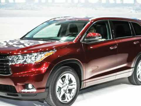 2019 Toyota Highlander Interior Exterior Redesign Youtube