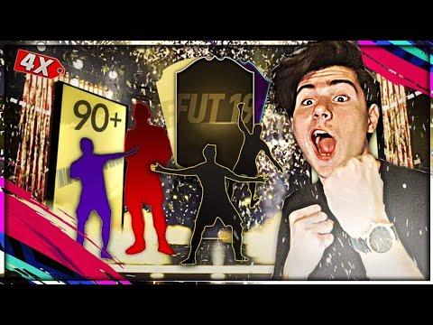 ЕПИЧЕН PACK OPENING! 4 WALKOUT-A И 2 ИНФОРМА!! | FIFA 19 PACK OPENING