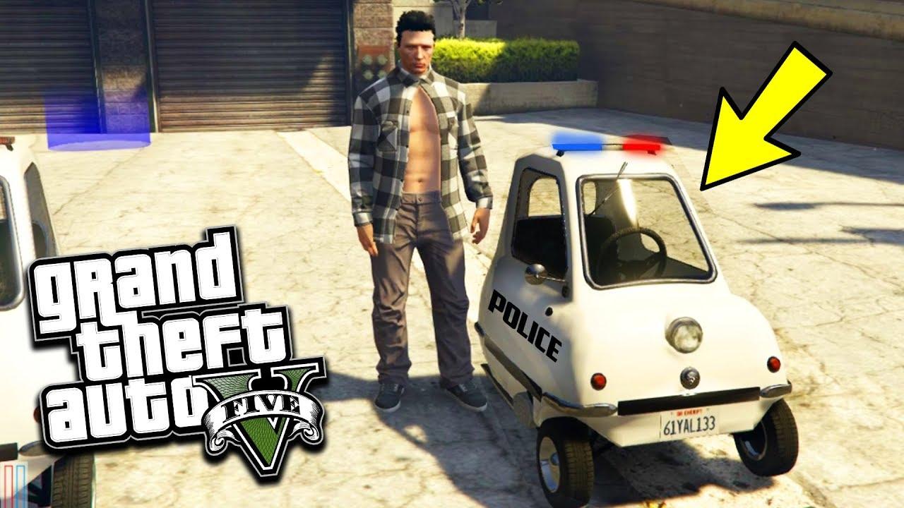 NOUVEAU VÉHICULE DE POLICE GTA 5