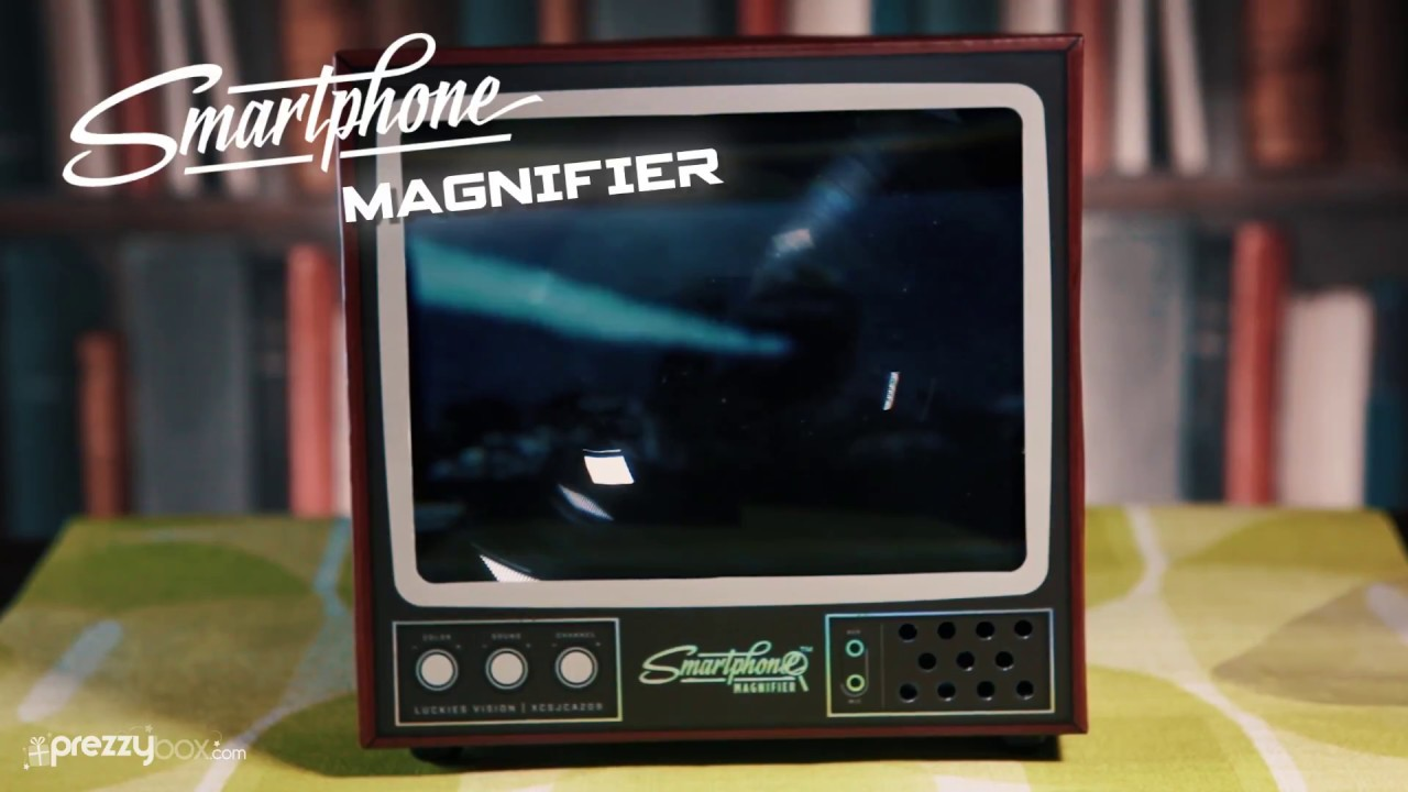 Smartphone Magnifier - Watch TV On The Big Screen - YouTube