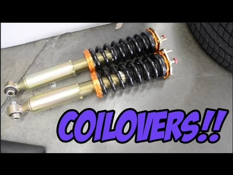 How to install coilovers on Lexus is300!!  –  #PROJECT300