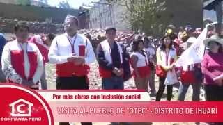 Visita a OTEC - Distrito de Ihuari