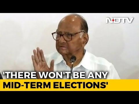 Sena-NCP-Congress Will Form Government, Will Run Full Term: Sharad Pawar