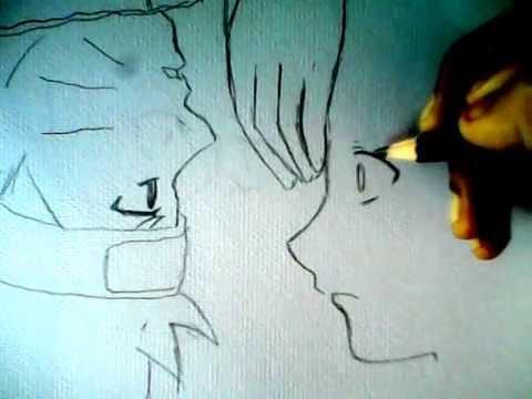 วาดรูปการ์ตูน คู่จิ้น น่ารักๆ