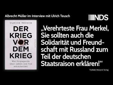 Auch Solidarität und Freundschaft mit Russland zum Teil der deutschen Staatsraison erklären!