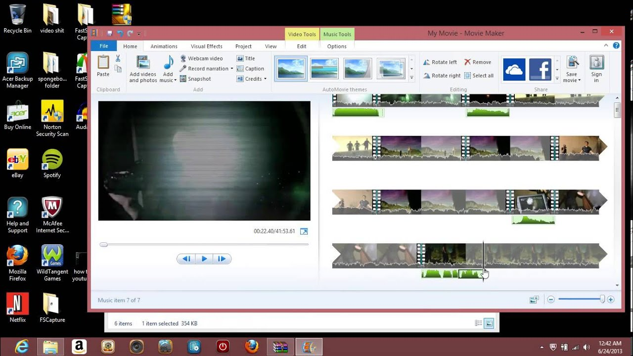 how to make a basic youtube poop/ edit in windows movie ...
