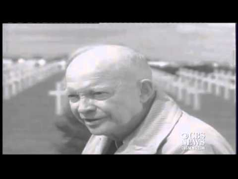 Eisenhower recalls sacrifices of D-Day, 20 years later