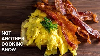 PERFECT BACON AND SCRAMBLED EGGS thumbnail
