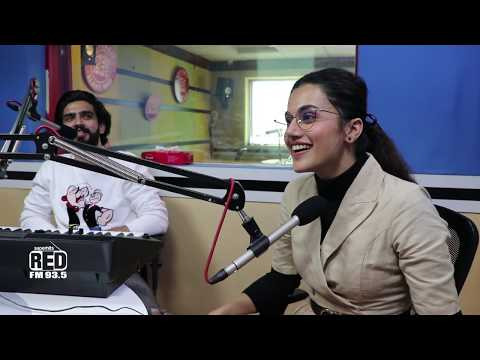 Taapsee Pannu Sharing Her Real Life BADLA stories With RJ Rishi Kapoor | Amaal Malik | Red FM