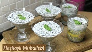 Haşhaşlı Muhallebi - Naciye Kesici - Yemek Tarifleri