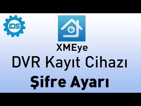 DVR Kayıt Cihazı İlk Şifre Oluşturma - XMEYE