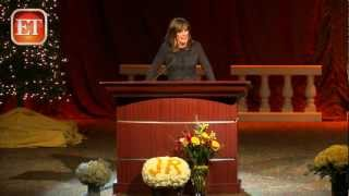 Linda Gray & Patrick Duffy bid emotional farewell to Larry Hagman