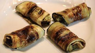 Eggplant Roll Up  Recipe