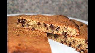 Keto Low Carb Jumbo Chocolate Chip Cookie Bars