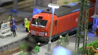 HO scale Model Trains/Locomotives on railways/railroads - Norway 2017