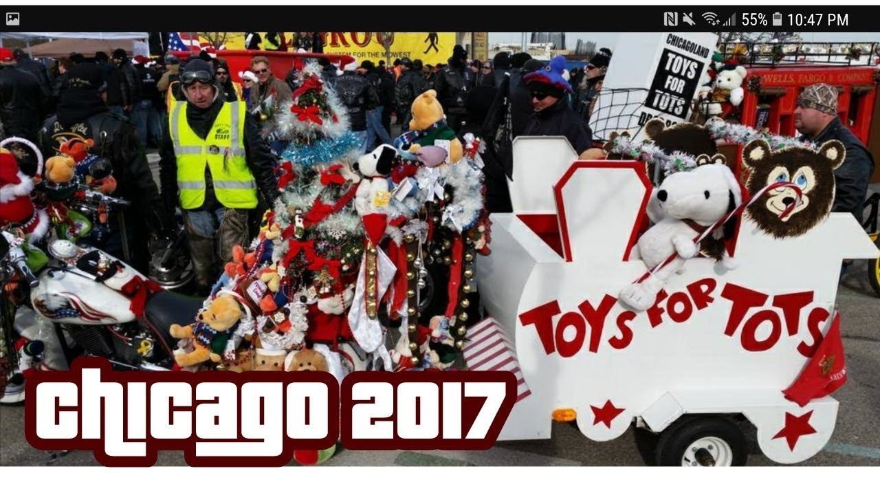 2017 Chicago Toys For Tots : Toys for tots chicago youtube