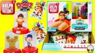 Wreck It Ralph 2 Disney Domez FULL CASE Domez Challenge Who Will Win?!