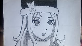 how to draw Juvia (step by step tutorial)