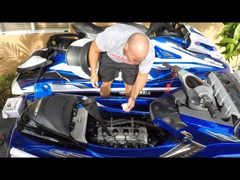 How to change oil and filter on yamaha pwc