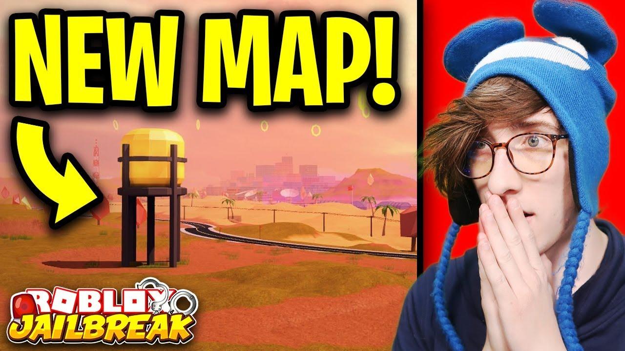 All Roblox Jailbreak Map Jailbreak New Map Revealed New Season 4 Map Roblox Jailbreak New Update Youtube