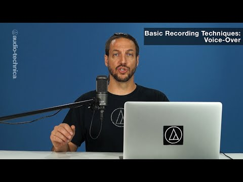Basic Recording Techniques: Voice-Over