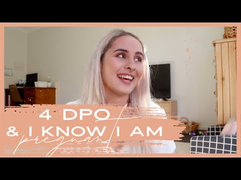 4 DAYS PAST OVULATION & I KNOW I AM PREGNANT! BEING TOTALLY TRANSPARENT! | TTC 2020