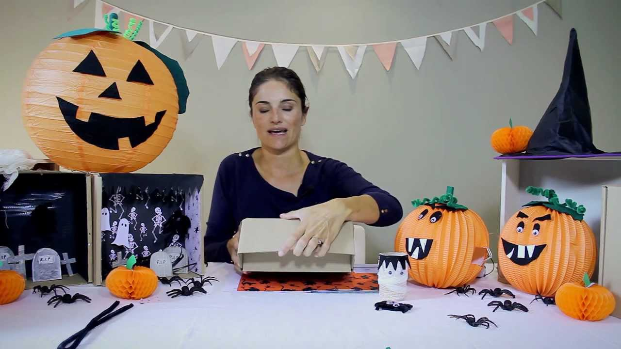 Decora tu casa en halloween youtube for Decoracion facil decasa